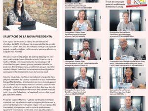 La Veu de Manresa+Comerç, salutació de Tània Infante, presidenta de l'entitat.