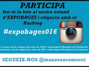 CONCURS INSTAGRAM  #expobages016