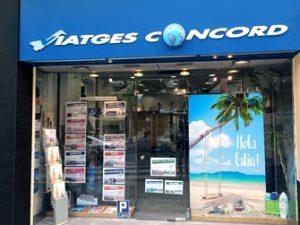 façana_viatgesconcord_manresa+comerç