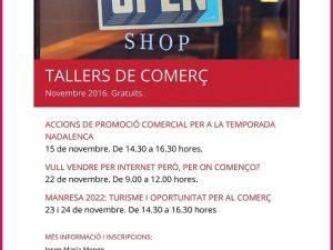 TALLERS GRATUÏTS PER AL SECTOR DEL COMERÇ