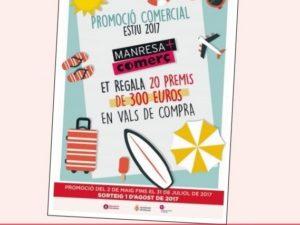 NÚMEROS GUANYADORS PROMOCIÓ COMERCIAL D'ESTIU 2017, MANRESA+COMERÇ