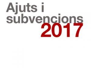 Subvencions pel comerç 2017, de la Generalitat de Catalunya