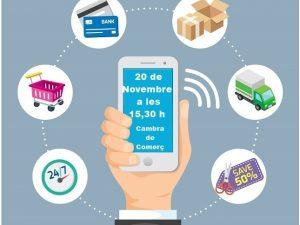 Manresa+Comerçorganitza, en col·laboració amb el Banc de Sabadell, unaxerrada oberta i dinàmicasobreCOMERÇ ELECTRÒNIC, SERVEIS I NOVES FORMES DE COBRAMENT PER A COMERÇOS