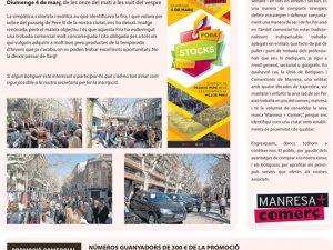 La Veu de Manresa+Comerç, Febrer 2018, Forastocks