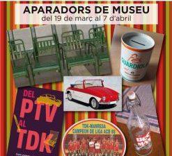 APARADORS DE MUSEU  Amb motiu de la II Setmana del Comerç