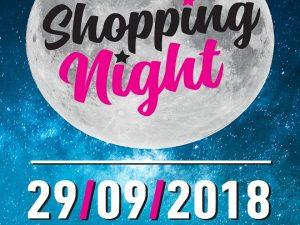 SHOPPING NIGHT 2018, Dissabte 29 de setembre