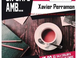 """Femb un cafè amb… Xavier Perramón """" El metall, el sector motor del territori: amenaces i oportunitats"""""""