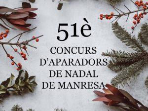 51è Concurs d'aparadors de Nadal de Manresa