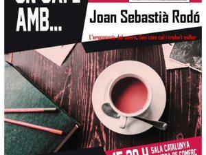 """Fem un cafè amb J. S. Rodó per tractar el tema L'ERGONOMIA DEL SEURE """"SEU COM CAL, TROBA'T MILLOR"""", el 7 de febrer a les 15'30 h."""