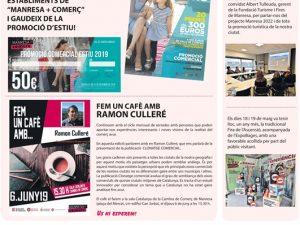 La Veu de Manresa+Comerç -Juny 2019-